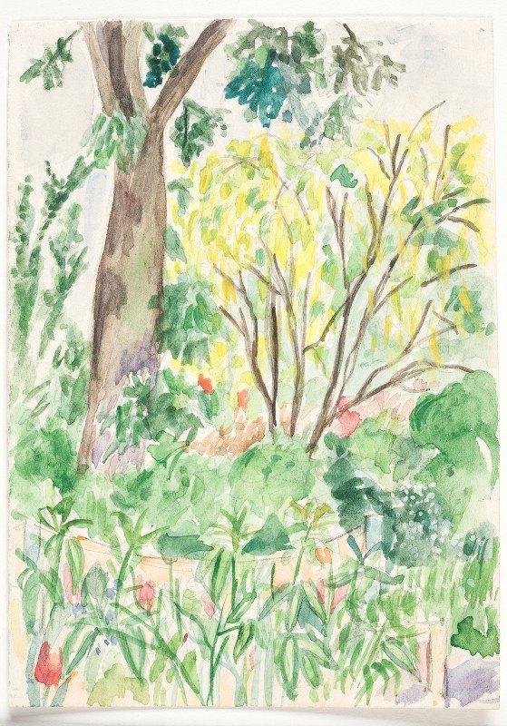 John Christensen - Guldregn i en have
