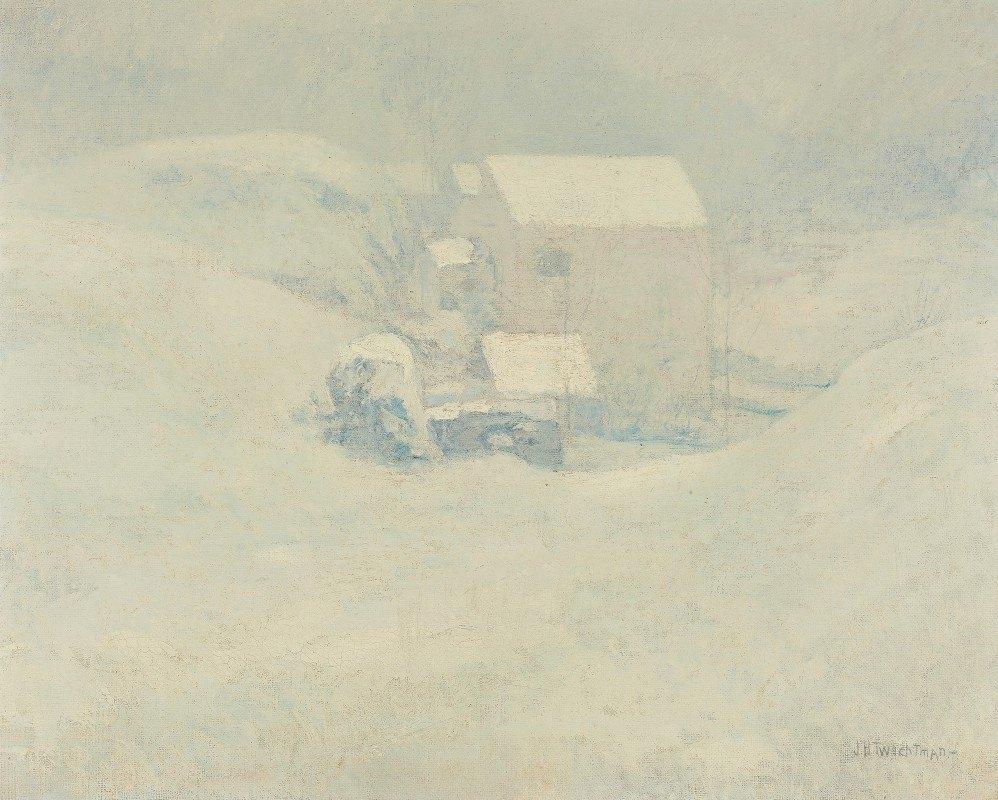John Henry Twachtman - Snow