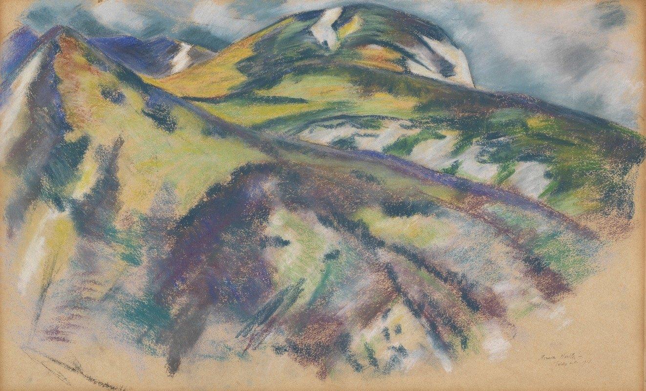 Marsden Hartley - Valdez Hills