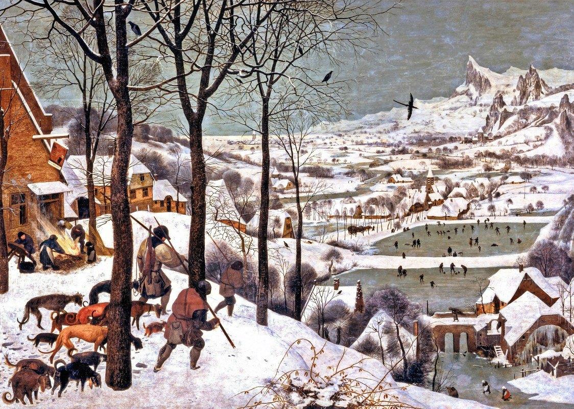 Pieter Bruegel The Elder - Hunters in the Snow (Winter)