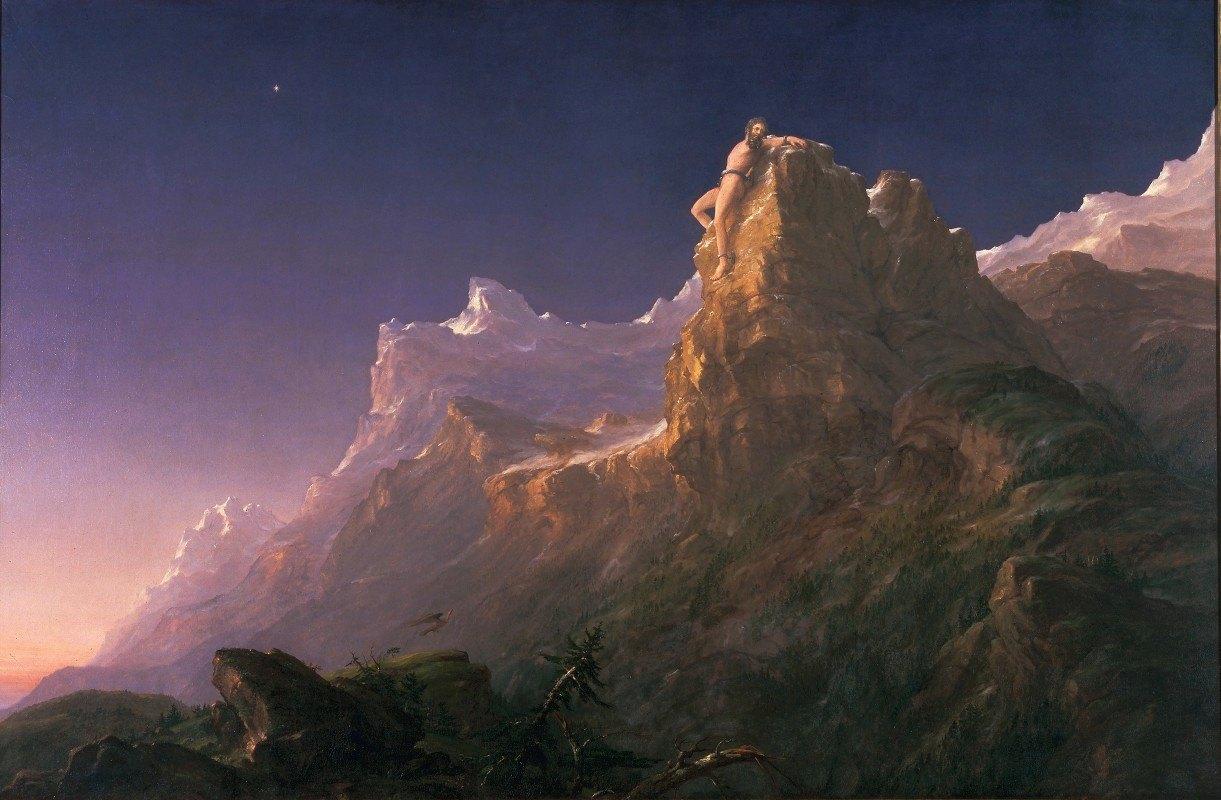Thomas Cole - Prometheus Bound