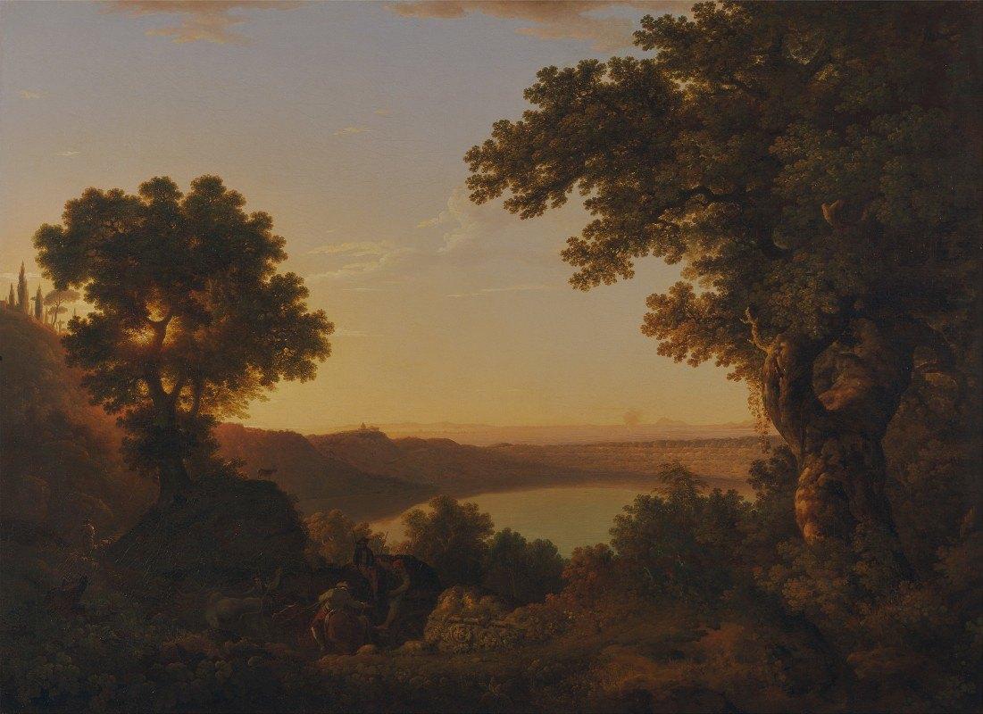 Thomas Jones - Lake Albano, Italy