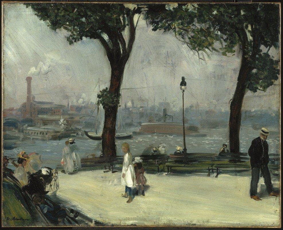 William James Glackens - East River Park