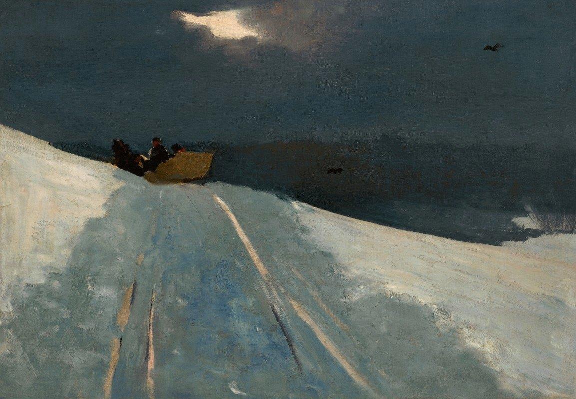 Winslow Homer - Sleigh Ride