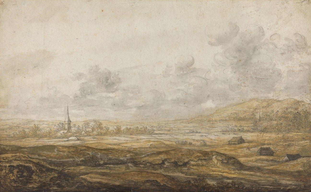 Aelbert Cuyp - Panoramic Landscape along the Rhine