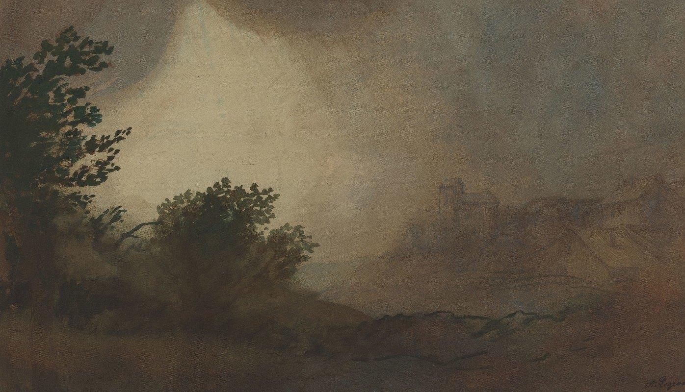 Alphonse Legros - Storm