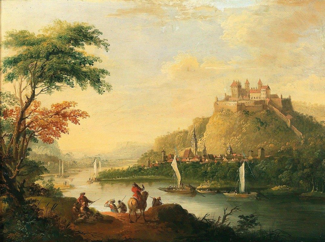 Christian Wilhelm Ernst Dietrich - View of Dresden