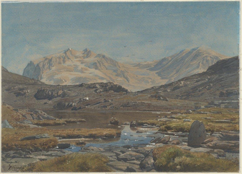 Francois-Louis Français - Mountain Landscape
