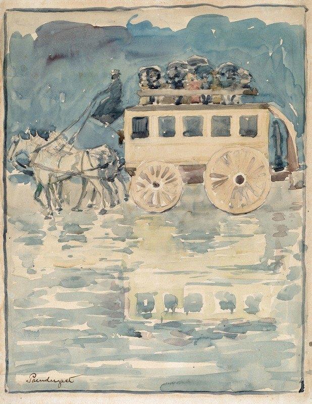 Maurice Prendergast - Parisian Omnibus