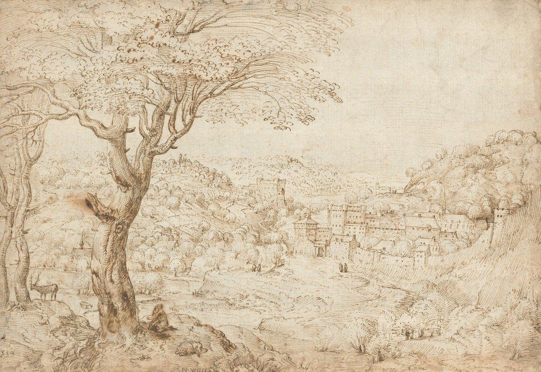 Pieter Bruegel The Elder - Landscape with the Penitence of Saint Jerome