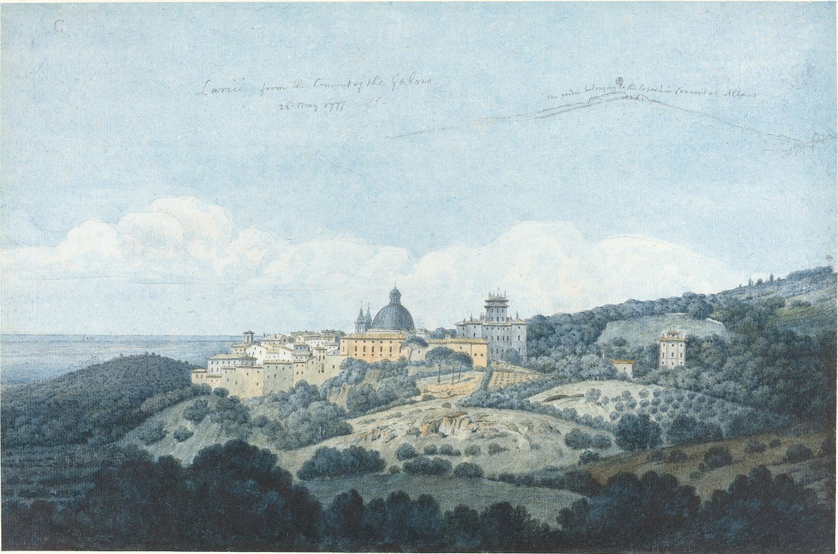 Thomas Jones - Larici from the Convent of the Galoro