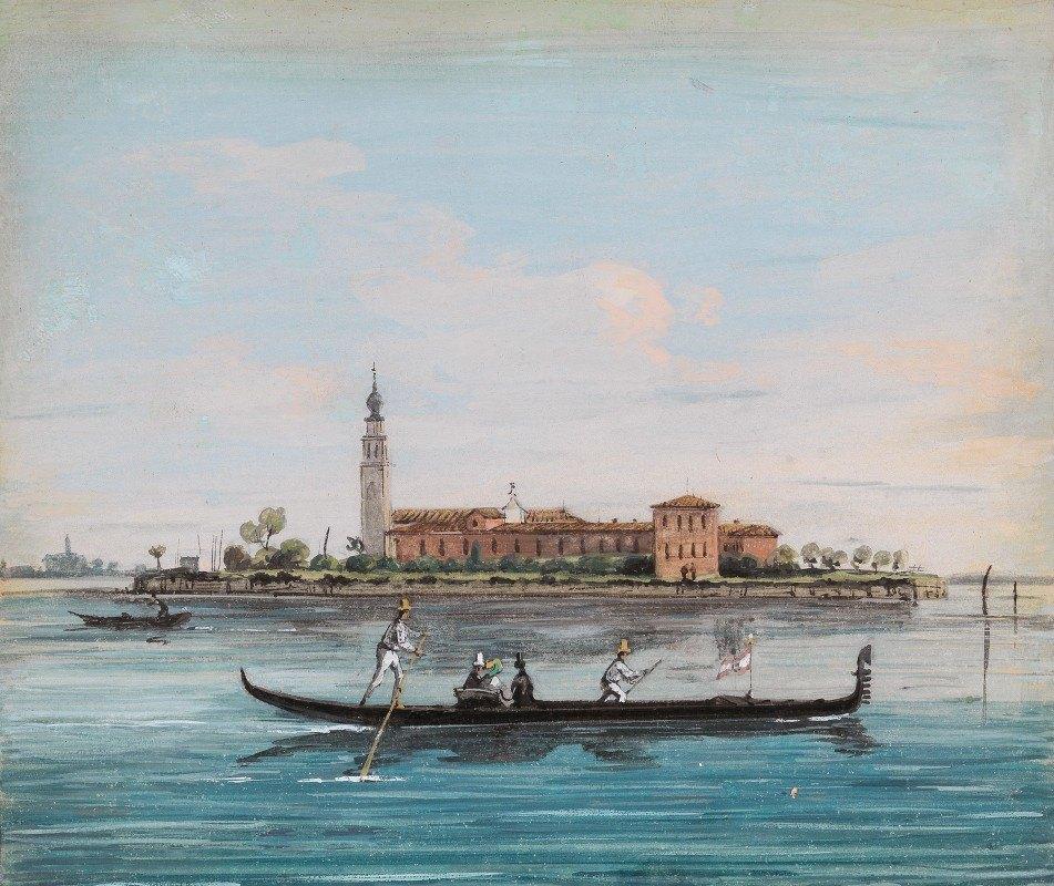 Giuseppe Bernardino Bison - Venice, View of San Lazzaro degli Armeni