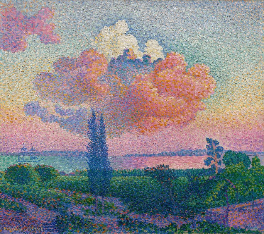 Henri-Edmond Cross - The Rose Cloud