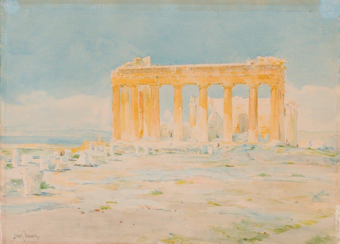 Henry Bacon - The Parthenon, East Facade
