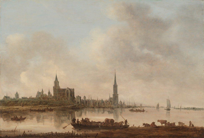 Jan van Goyen - View of Emmerich