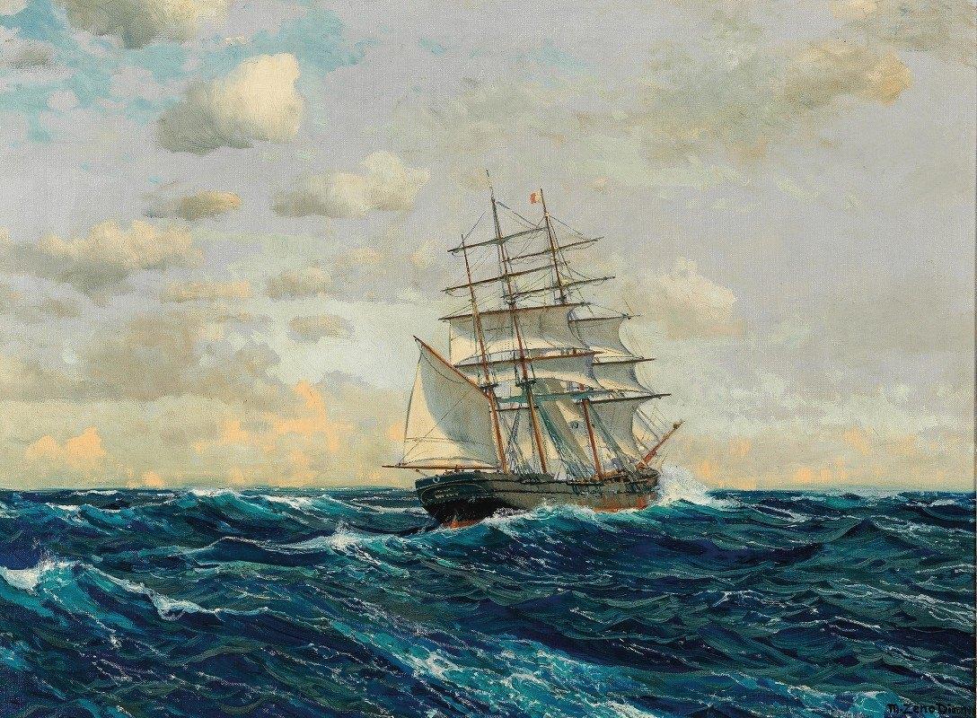 Michael Zeno Diemer - Three-Master on the High Seas