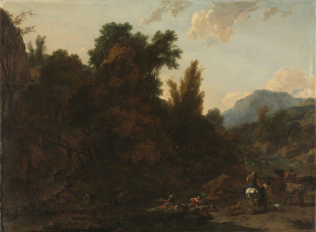 Nicolaes Pietersz. Berchem - Rush Gatherers