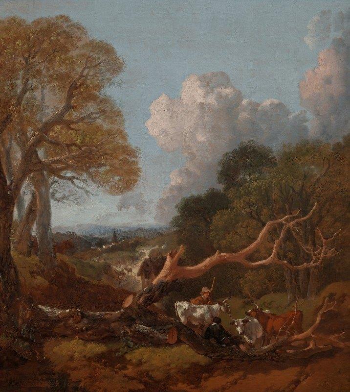 Thomas Gainsborough - The Fallen Tree