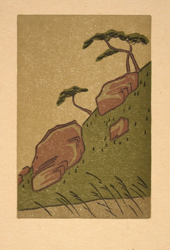 Arthur Wesley Dow - Ipswich Prints; Color Scheme From Hiroshige, No. 1