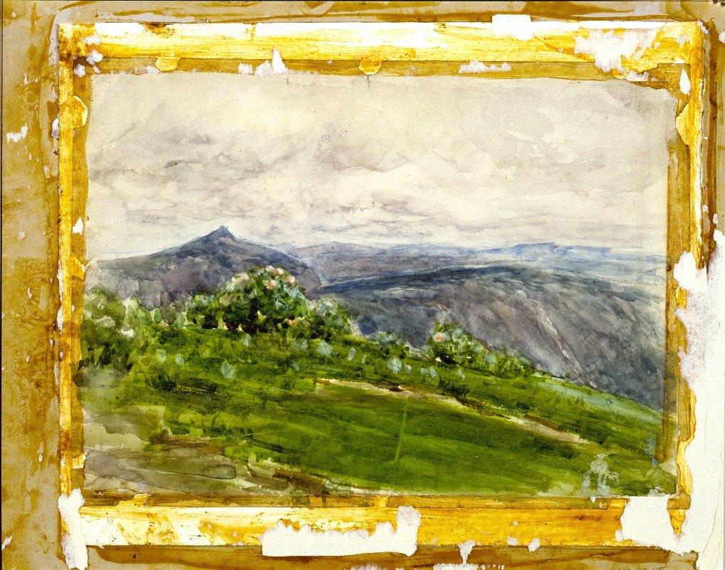 Henry Ossawa Tanner - Mountain Landscape, Highlands, North Carolina