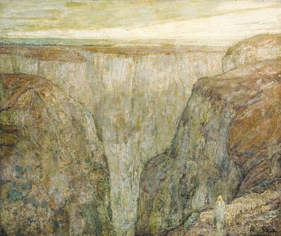 Henry Ossawa Tanner - The Good Shepherd (Atlas Mountains, Morocco)