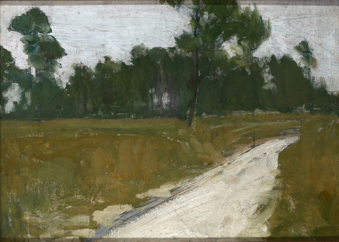 Henry Ossawa Tanner - Country Road In France
