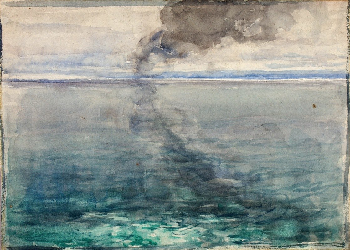 Henry Ossawa Tanner - Crossing The Atlantic (Return Home)