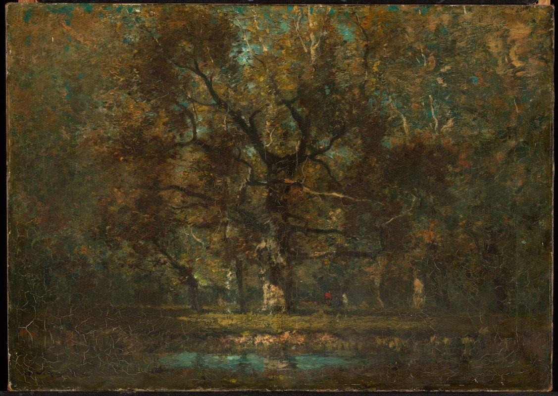 Henry Ward Ranger - Oak Tree