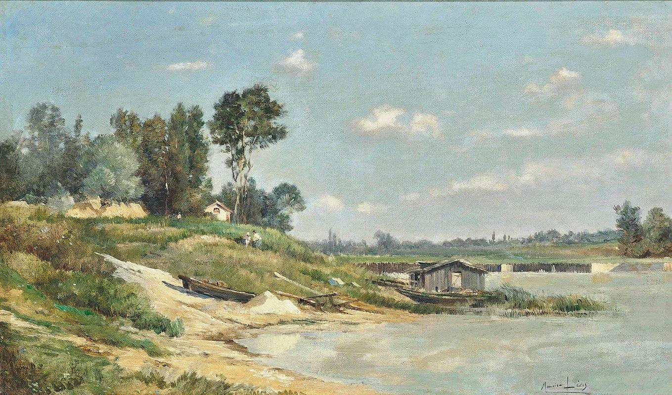 Maurice Levis - A River Landscape
