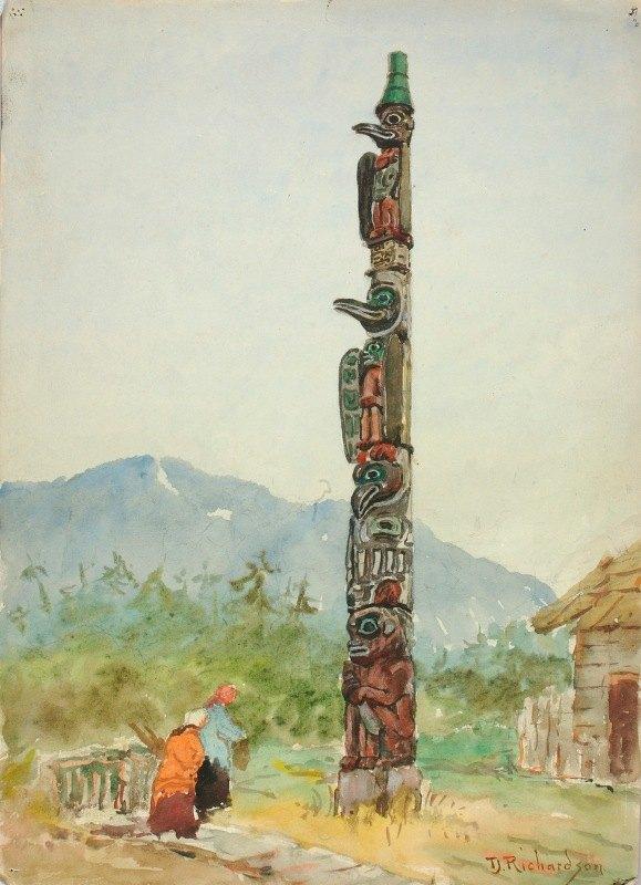 Theodore J. Richardson - The Raven Totem Pole
