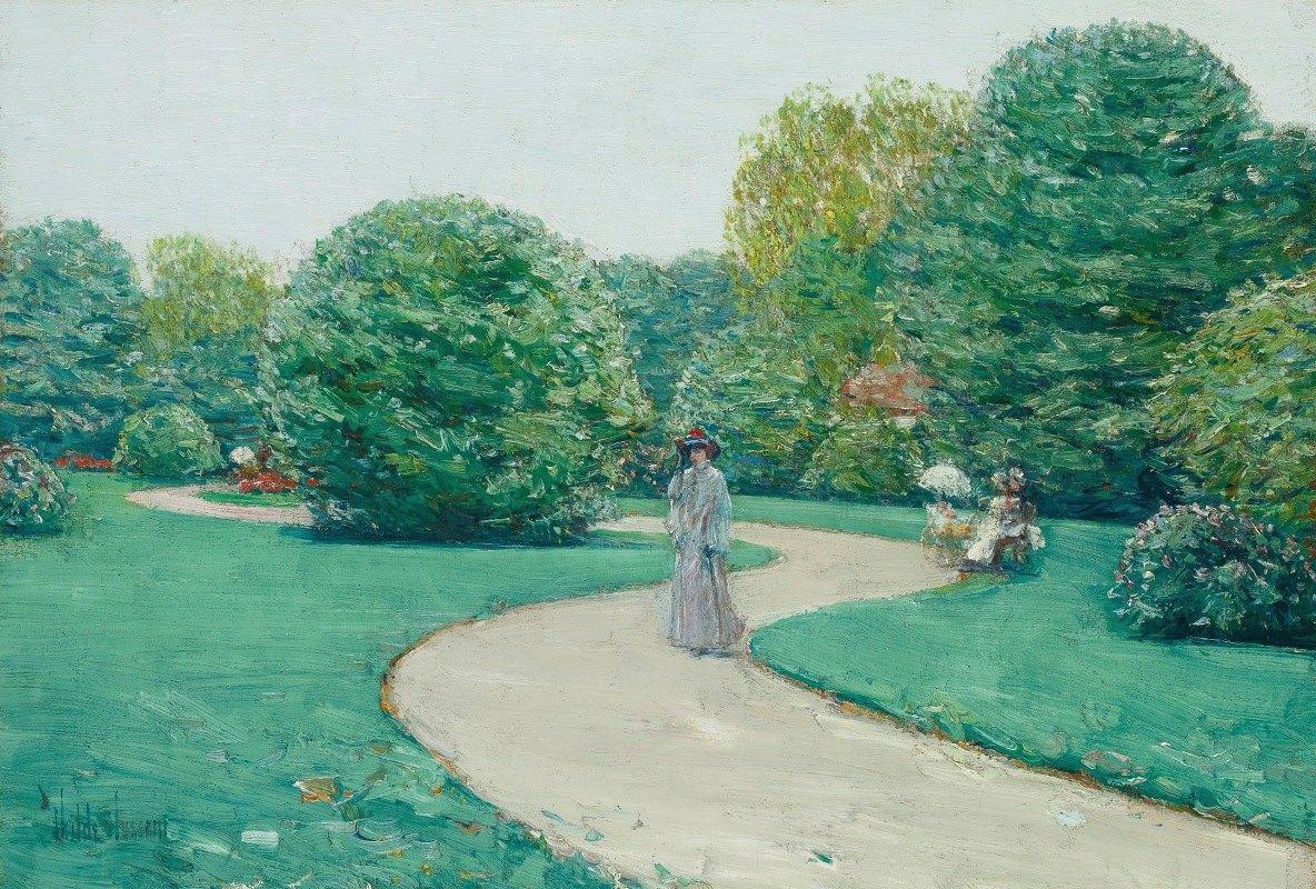 Childe Hassam - Parc Monceaux, Paris