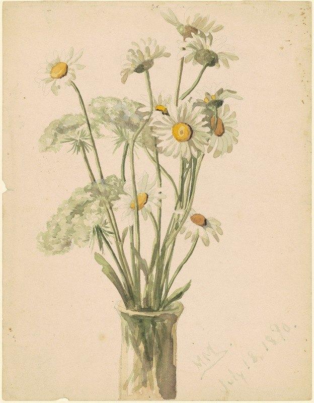 Marietta Minnigerode Andrews - Daisies and Queen Ann's Lace