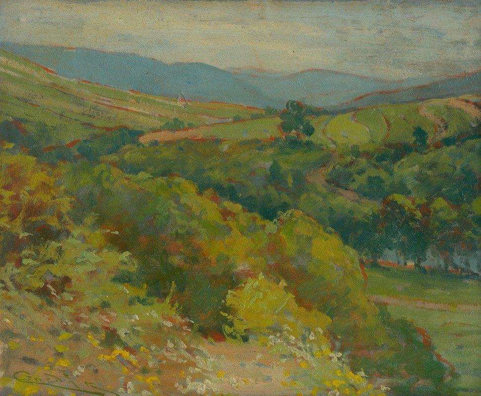 Ľudovít Čordák - The Hornád Valley by Ťahanovce