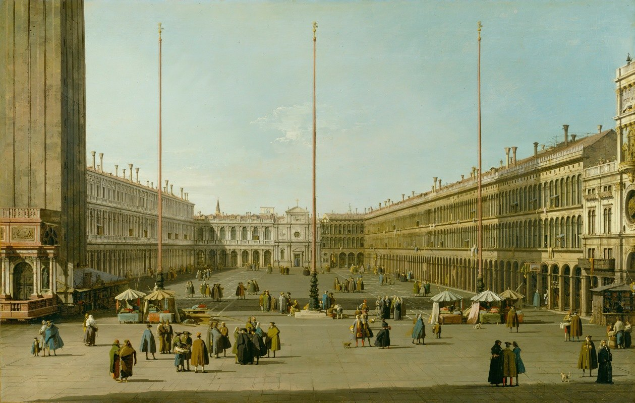 Canaletto - The Piazza San Marco