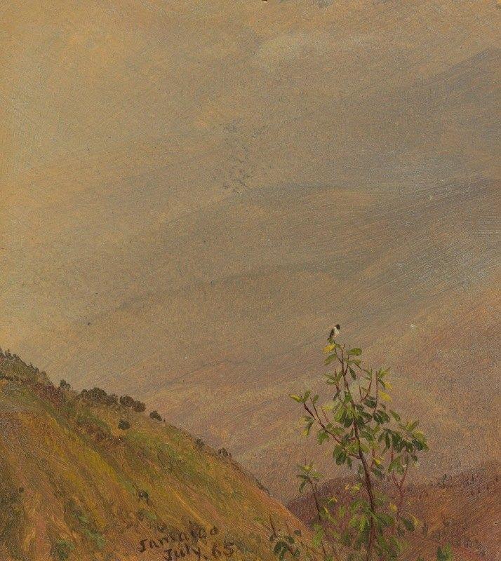 Frederic Edwin Church - Landscape VI