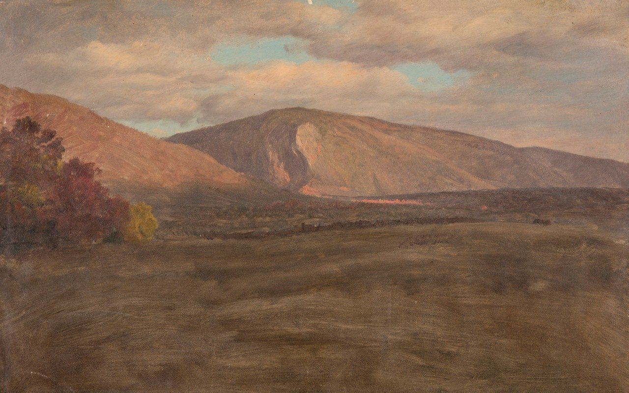 Frederic Edwin Church - Mt. Katahdin from the South West