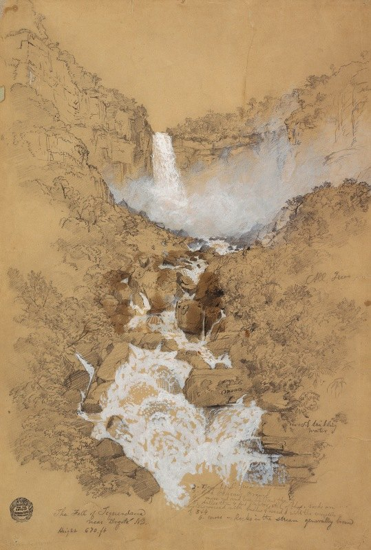 Frederic Edwin Church - Tequendama Falls near Bogotá, Colombia