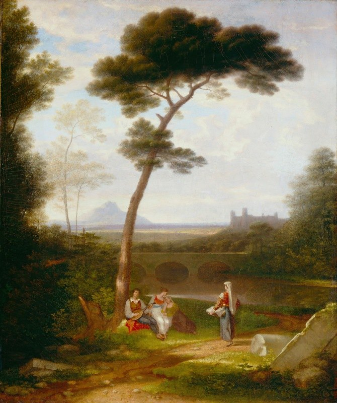 Washington Allston - Italian Landscape