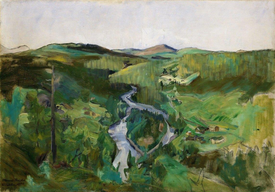 Harriet Backer - Landscape from Foldalen
