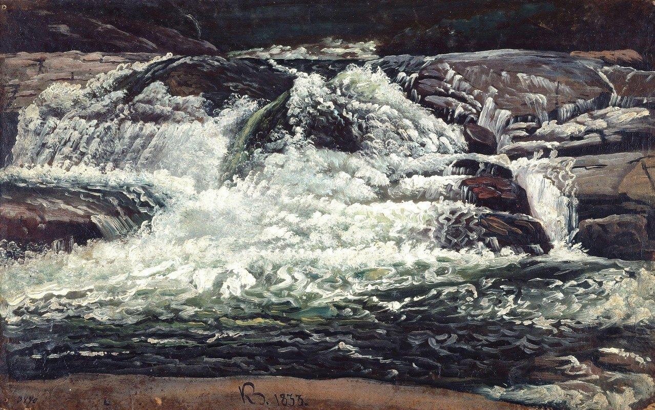 Knud Baade - A Waterfall
