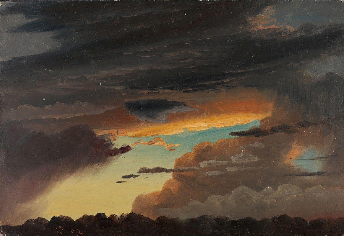Knud Baade - Cloud Study