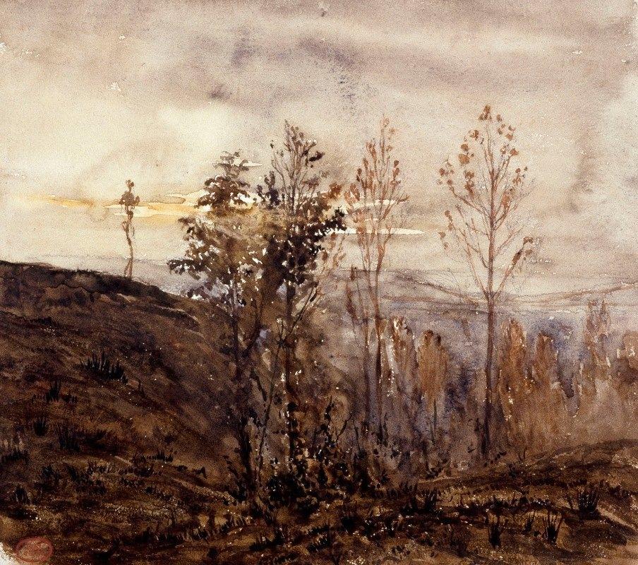 Paul Huet - Les bois de Sèvres