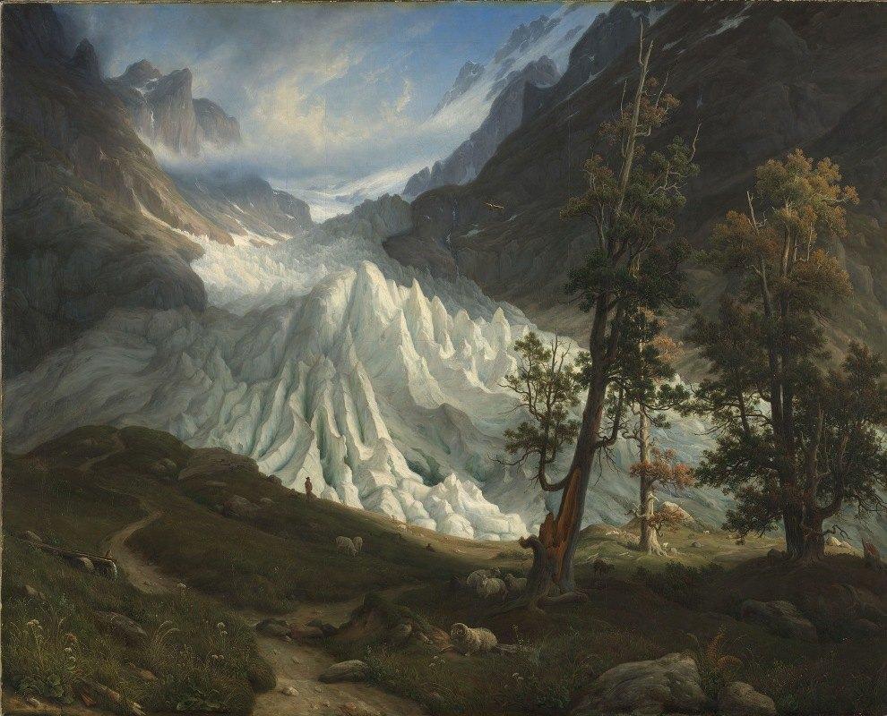 Thomas Fearnley - The Grindelwaldgletscher