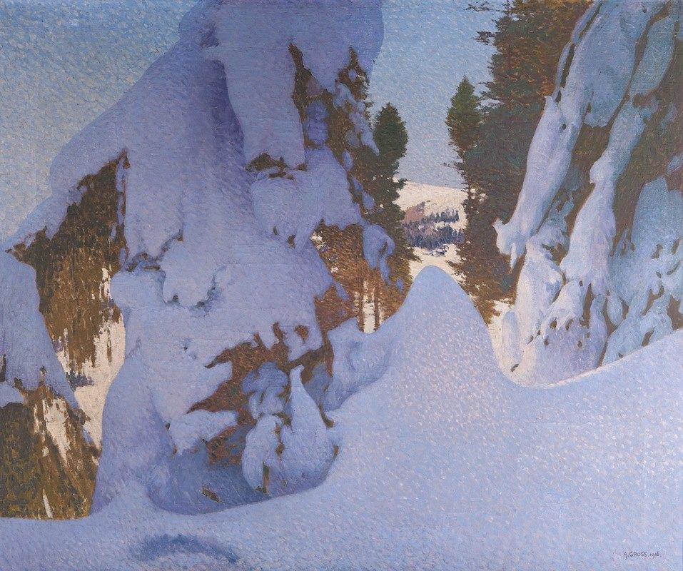 Adolf Gross - Winter