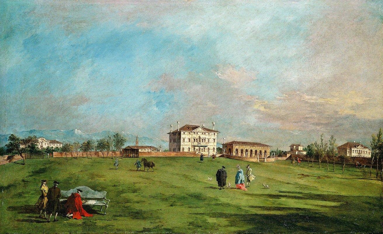Francesco Guardi - The Villa Loredan, Paese