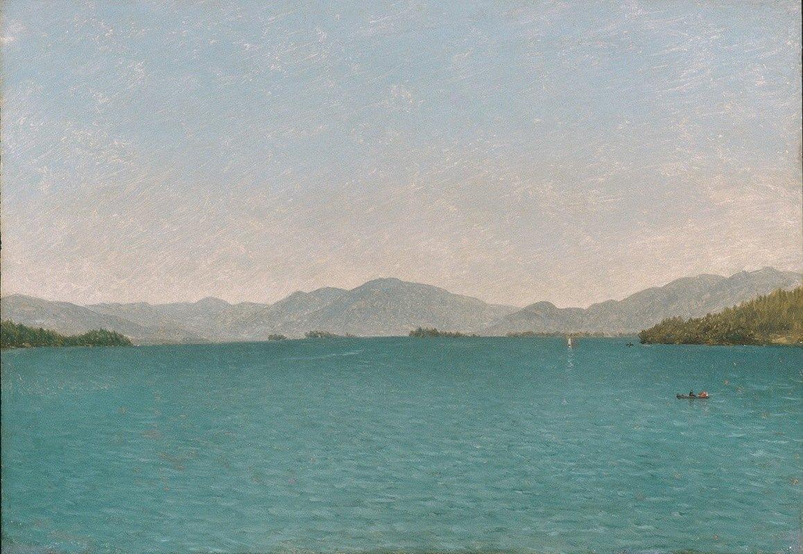John Frederick Kensett - Lake George, Free Study