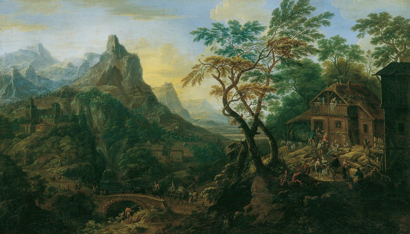 Josef Orient - Gebirgslandschaft