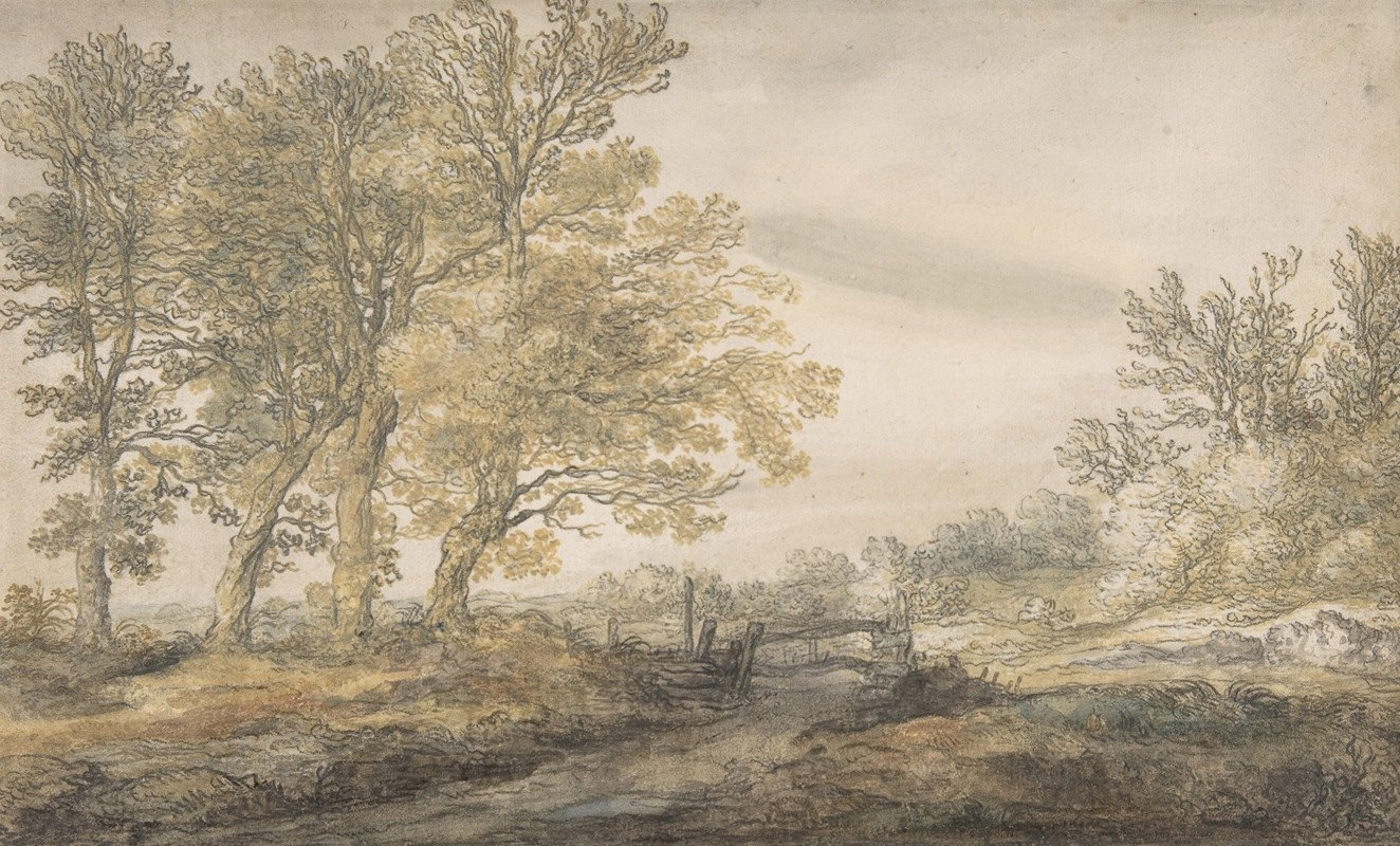 Aelbert Cuyp - Landscape with Trees