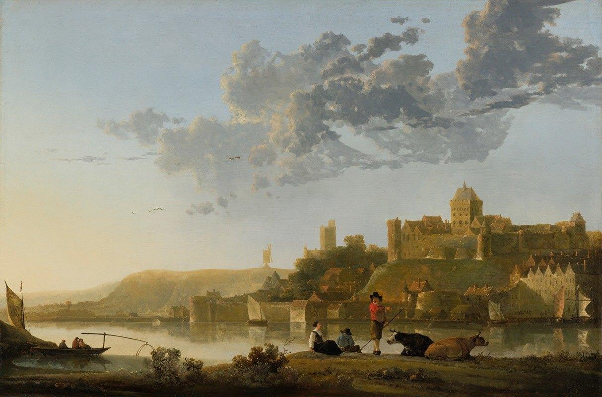 Aelbert Cuyp - The Valkhof at Nijmegen
