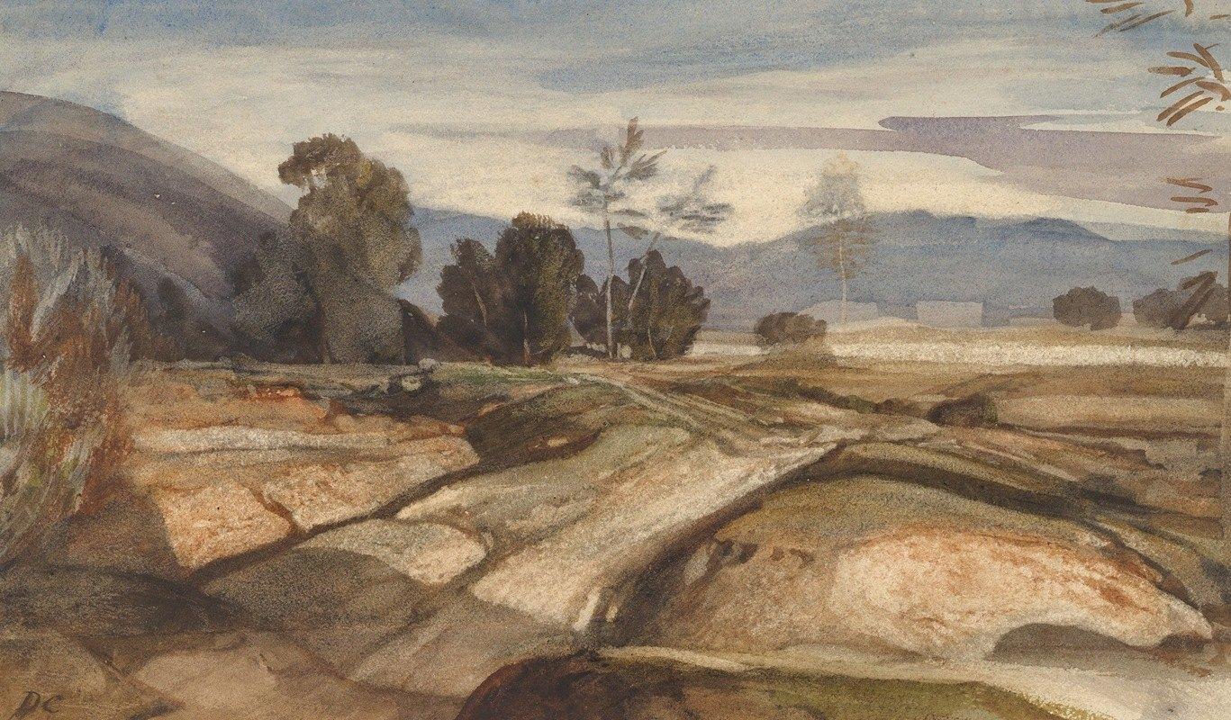 Alexandre-Gabriel Decamps - Landscape